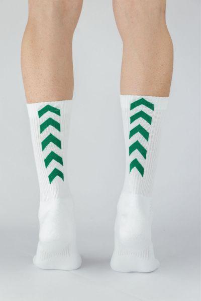Αθλητικές κάλτσες Trendy 3 ζευγάρια λευκό