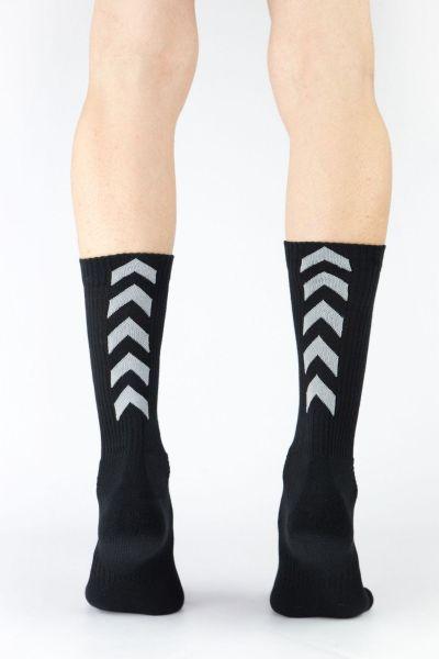 Αθλητικές κάλτσες Trendy 3 ζευγάρια μαύρογκριμπλε