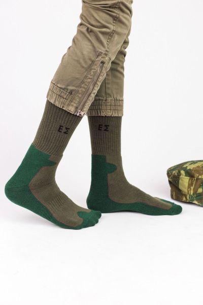 Ανδρικές Κάλτσες Στρατιωτικές Trendy GREEK MILITARY
