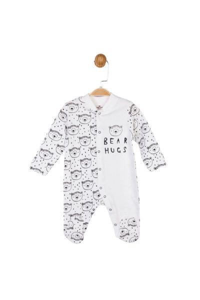 Βρεφικό Φορμάκι Unisex Luggi Baby BEAR HUGS