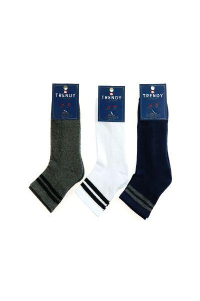 Αθλητικές ημίκοντες κάλτσες