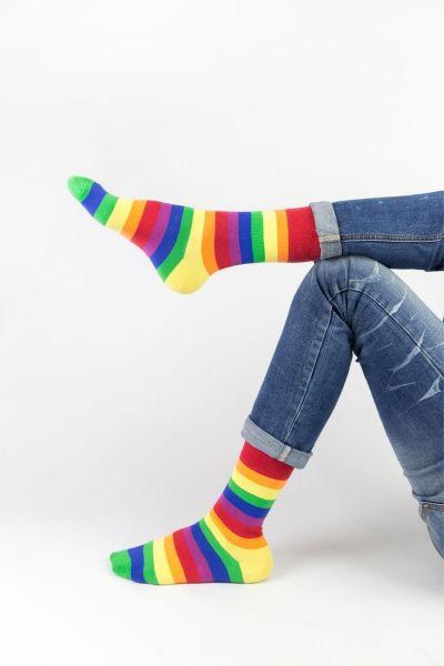 Fashion Κάλτσες Crazy Socks RAINBOW
