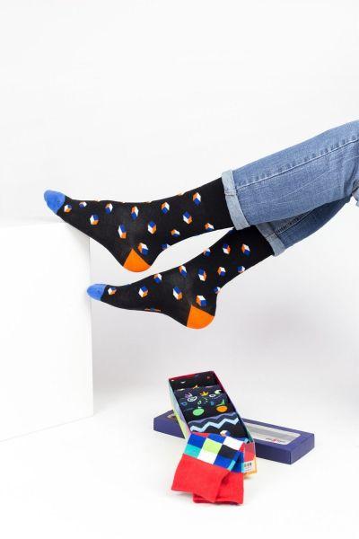 Fashion Κάλτσες Design SHAPES 7 Ζευγάρια