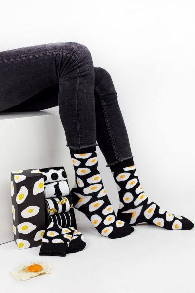 Fashion Κάλτσες Livoni B&W 5 Ζευγάρια
