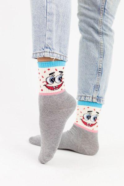 Γυναικείες Ημίκοντες Κάλτσες Modernty BOB RED 3 ζευγάρια