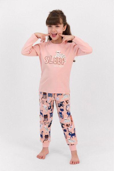 Παιδική Πιτζάμα για κορίτσι Roly Poly  ZOO