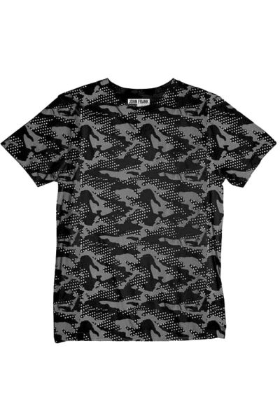 T-Shirt John Frank CAMOSTAR
