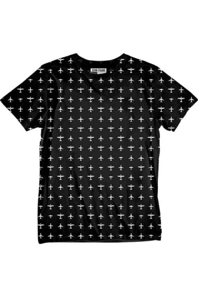 T-Shirt John Frank PLANES