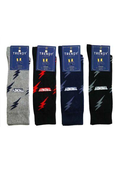 Κάλτσες Fashion με κεραυνούς