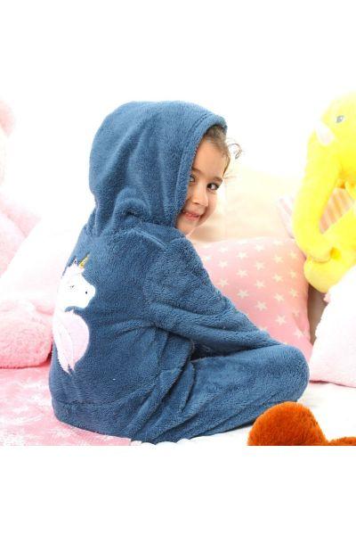 Παιδική Ολόσωμη Φλις Πιτζάμα