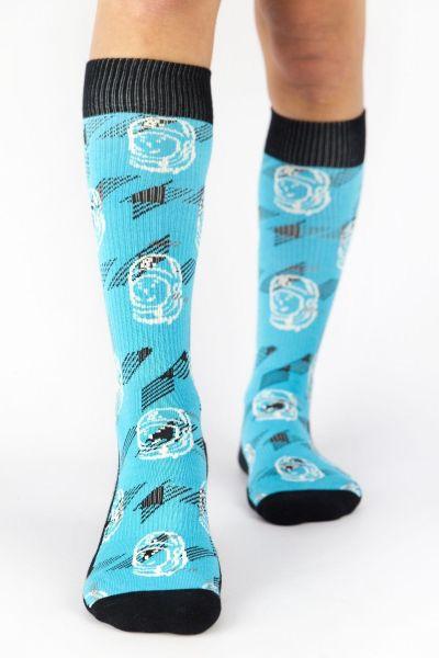 Unisex Αθλητικές Κάλτσες Crazy Socks HELMET