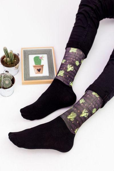 Unisex Fashion Κάλτσες Trendy CACTUS