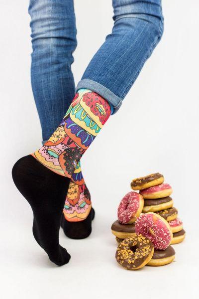 Unisex Fashion Κάλτσες Trendy DONUTS