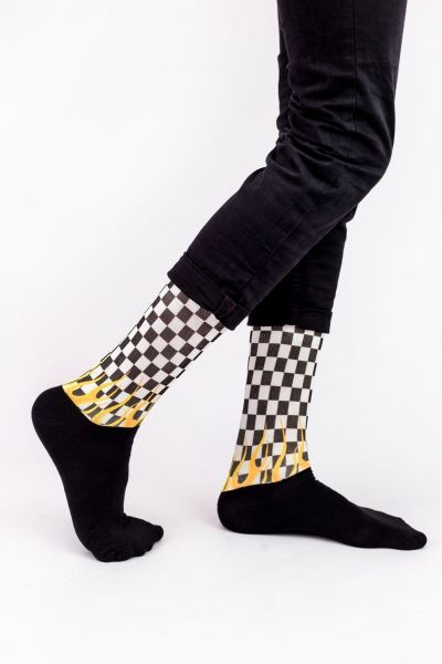 Unisex Fashion Κάλτσες Trendy FLAMES