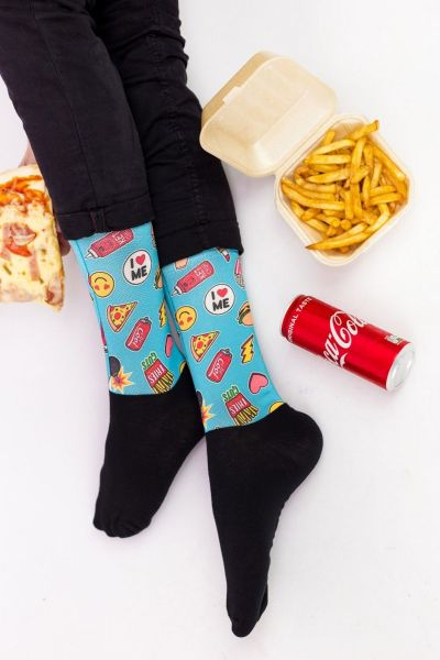 Unisex Fashion Κάλτσες Trendy FOOD