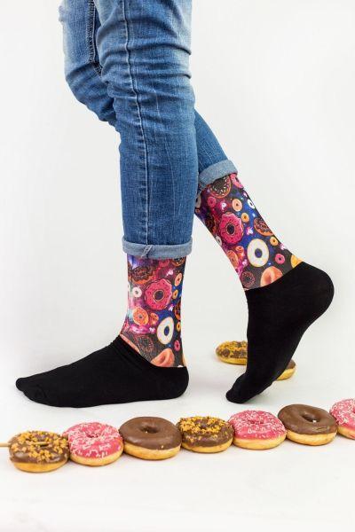 Unisex Fashion Κάλτσες Trendy GALAXY DONUTS