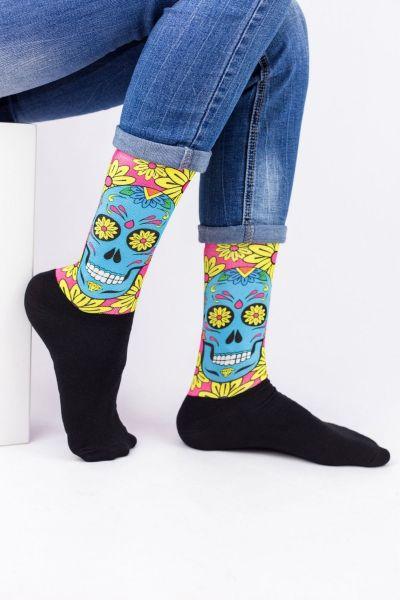 Unisex Fashion Κάλτσες Trendy HAPPY SKELETON