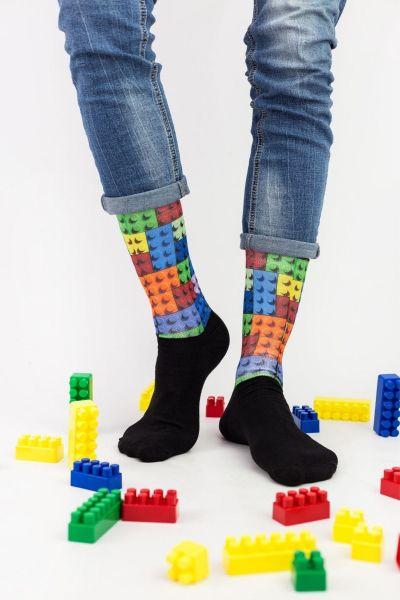 Unisex Fashion Κάλτσες Trendy LEGO