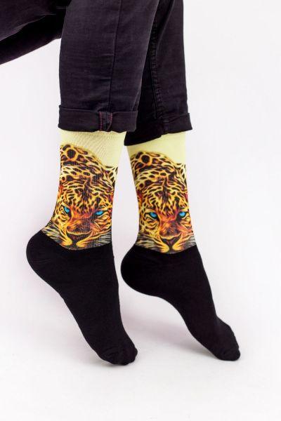 Unisex Fashion Κάλτσες Trendy LEOPARD