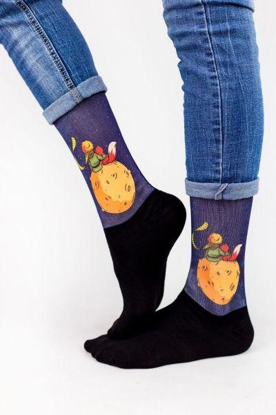 Unisex Fashion Κάλτσες Trendy LITTLE PRINCE