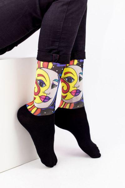 Unisex Fashion Κάλτσες Trendy MOON