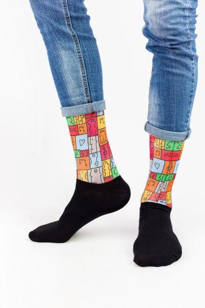 Unisex Fashion Κάλτσες Trendy PAINTER
