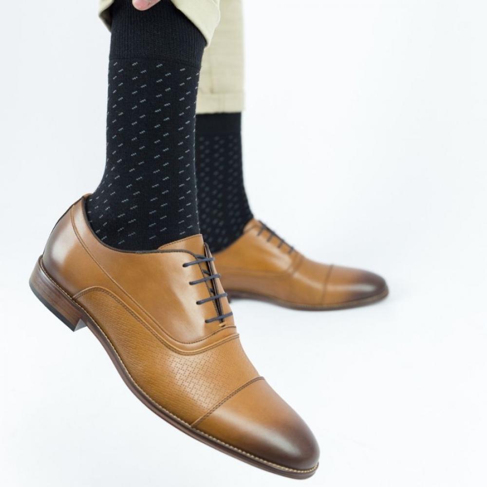 Ανδρικές casual κάλτσες Trendy ERIC Βαμβακερές Μαύρο