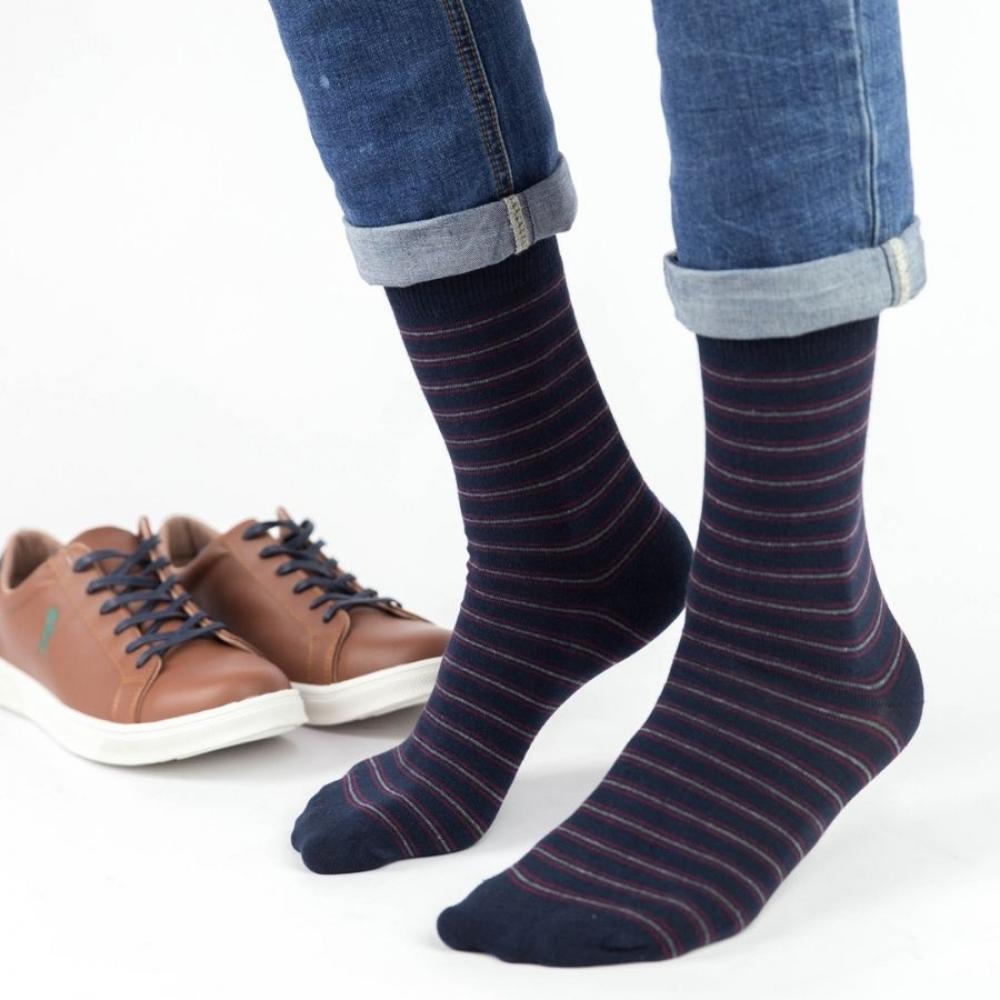 Ανδρικές casual κάλτσες Trendy PAUL Βαμβακερές Σκούρο Μπλέ